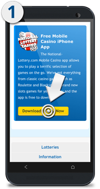 National Lottery Android Apps