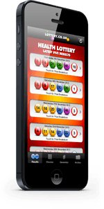 Health Lottery iPhone App