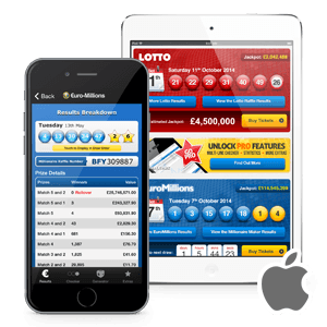 iPhone and iPad Lottery Apps