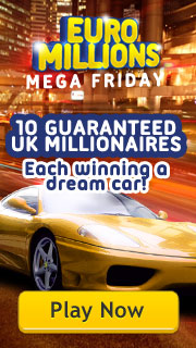 EuroMillions Mega Friday - 27th March 2015