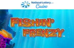 Play Fishin Frenzy now at National-Lottery.com Casino