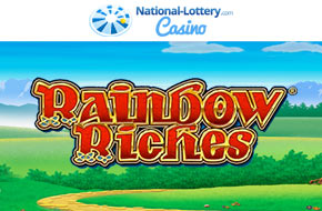 Play Rainbow Riches now at National-Lottery.com Casino