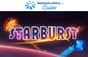 Play Starburst now at National-Lottery.com Casino