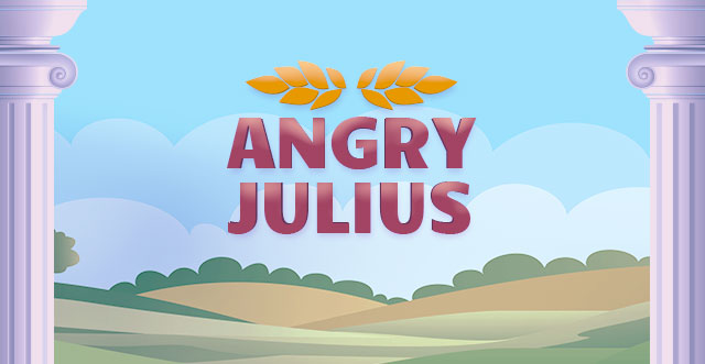 Angry Julius Scratchcard Logo